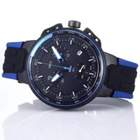 ingrosso l'orologio al quarzo funziona-Top brand da uomo Business swiss orologio da polso Tutti i quadranti funziona al quarzo Orologio da uomo Montre homme Sport Watches Silicone Strap Army Calendar Clock