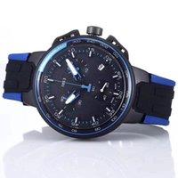 quarzuhr funktioniert großhandel-Top-Marke Männer Business Schweizer Armbanduhr Alle Zifferblätter funktioniert Quarzuhr Männer Montre homme Sportuhren Silikonarmband Armee Kalender Uhr