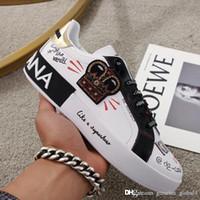 Wholesale sport ma for sale - Group buy New Men s sneakers Men s and women s PORTOFINO sports shoes Luxury designer shoes Code CS1570AZ268HWF57 Female code ma
