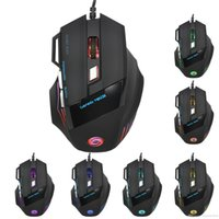 Wholesale gaming pc prices for sale - Group buy N factory price GIFT HXSJ DPI Buttons LED Optical USB Wired Gaming Mouse Mice For PC Laptop wired gaming mouse U387