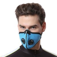 верховая маска пыли оптовых-Bicycle Face Mask Breathable Bike Sport Riding Cycling Face Masks Anti Dust Cycle Mask Veil Guard For Women Men New