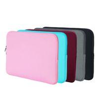 операционные системы оптовых-Водонепроницаемый сумка для ноутбука15.6 дюймов 13 дюймов Водоотталкивающий полиэстер Защитный чехол с карманом для нетбука