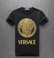 vs kadınlar toptan satış-2019 Yaz Tasarımcı Lüks T Shirt Erkekler kadınlar için Tops marka Köpekbalığı Ağız Desen Giyim Kısa Kollu Tişört Mens Tops VS t-shirt M-5XL