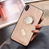 Wholesale retail package universal packaging online - Luxury Diamond Phone Case With Kickstand For iPhone XR XS MAX X Plus With Retail Package