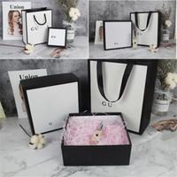 bolso de diseño clásico al por mayor-Patrón clásico del INS bolsos de diseño de moda Perfumes regalos del día de Navidad la decoración de la marca del lápiz labial de la caja 2 colores