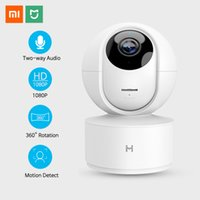 Wholesale mini infrared night camera for sale - Group buy Xiaomi Mini IP Camera Wifi P Infrared Night Vision Motion Detector Wireless Home Security Camera Surveillance Baby Monitor