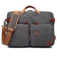 caderno do saco da caixa do portátil 17 venda por atacado-Bolsa de Negócios Pasta Mochila Convertible Backpack Laptop Bag 15 17 17,3 polegadas Case Bag Notebook Ombro Mensageiro Laptop