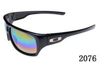 bike sonnenbrille uv großhandel-Bike Brille 2076 Top-Qualität polarisierte Sonnenbrille fahren Fashion Outdoors Sports Radsportbrille UV-Schutzbrille Brillen-Logo