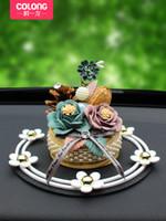 Wholesale consoles accessories resale online - Car ornaments car decorations decorations console luxury ladies accessories ornaments