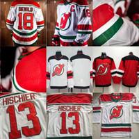 трикотажные изделия хоккейного наследия оптовых-New Jersey Devils новый «Heritage Jersey» для сезона 2018-19