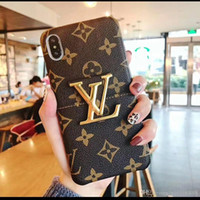 Wholesale newest iphone wallet case online – custom Newest luxury bee phone case For iphone case plus XR XS MAX frame anti drop iphone case With bracket