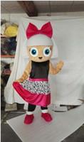 bonecas extravagantes venda por atacado-New Adult LOL Boneca Do Partido Do Traje Da Mascote Do Natal Do Vestido Extravagante Do Dia Das Bruxas Da Menina Traje Da Mascote Navio Livre