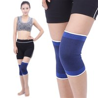 Wholesale protection cycling resale online - 2019 New Arrival Nylon Spandex Warm Knee Wrap Support Sport Protection Guard Strap Bandage Cycling The Lowest Price
