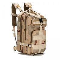 Wholesale military bags online - 25L Outdoor Tactical Climbing Backpack Hiking Training Military Waterproof Bag Camping Mountaineering Storage Sport P Bag LJJT166