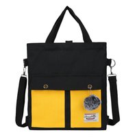 Wholesale used school bags for sale - Group buy Version Fashion Fashion Three use Women Bag Multi function Backpack Large Capacity Diagonal Bag School Shoulder Bookbags