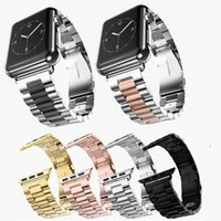 Wholesale watch band link strap for sale - Group buy Stainless Steel Strap For Apple Watch Band Link Bracelet mm mm Watch Band SmartWatch Metal Band for iWatch Series