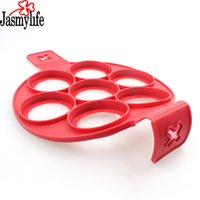 Wholesale cheese sticks resale online - Perfect Pancake maker Egg cheese bread bakeware Cavity non stick Flippin Fantastic Silicone Pancake Mold Pastry Tools