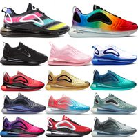 estilo de sapatos de homens azuis venda por atacado-2019 Nike Air Max 720 novo estilo chegam tênis de corrida para homens kpu atlético esporte zapatillas hombre andando designer shoes sneakers eur 36-45