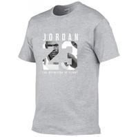 impression de vêtements de fitness achat en gros de-Nouveau Vêtements 23 Hommes T-shirt Swag T-Shirt Coton Imprimé Hommes T shirt Homme Fitness Camisetas Hip Hop Tshirt