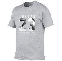 impresión de ropa de fitness al por mayor-Nueva Ropa 23 Hombres Camiseta Swag Camiseta Algodón Estampado Hombres Camiseta Homme Fitness Camisetas Hip Hop Camiseta
