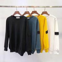 süveter katmanı xl toptan satış-Yeni Moda sonbahar kış Erkekler 108 uzun kollu Hoodie Hip Hop Tişörtü ceket rahat giysiler kazak kazak S-2XL # 811