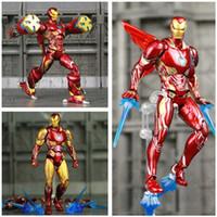 brinquedos marvel ironman venda por atacado-Marvel S.h.figuarts 6
