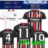 ingrosso campionato di calcio tailandese-qualità tailandese 2019 2020 Eintracht Francoforte maglia da calcio 19 20 Francoforte Europa League HALLER JOVIC REBIC casa lontano maglie da calcio