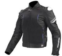 malla de montar chaquetas de moto al por mayor-Chaqueta de moto KOMINE JK107 Titanium spring transpirable de carreras de alta resistencia a la caída de la ropa
