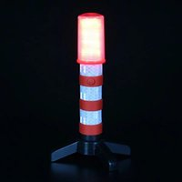 Wholesale light stand for flash resale online - LED Portable Road lamp Safety Flashing Flash Strobe Flash Lights With stand For Traffic Alerts JK0741