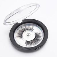 Wholesale silk eyelashes resale online - Mink Lashes D Silk Protein Mink False Eyelashes Soft Natural Thick Fake Eyelashes Eye Lashes Extension Styles with box RRA1334