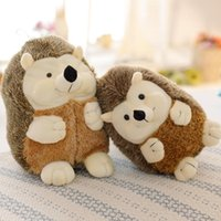 Wholesale wedding stuffed animals for sale - Creative imitation hedgehog doll spot small hedgehog plush toy stuffed animals factory direct sales machine wedding supplies