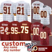 ingrosso jersey di calcio d'oro-17 TERRY McLaurin personalizzato Redskin Jersey 5 Tress Way ORO 6 Mark Sanchez 12 Colt McCoy 8 Case Keenum Jonathan Bostic ORO Jersetys