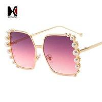 ingrosso perle veneziane-vendita all'ingrosso perle veneziane decorazione donne occhiali da sole quadrati progettista di marca sfumature sfumature UV400