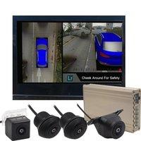ver latas al por mayor-Venta caliente puede Línea de Referencia autobús Mueva Siguiendo el volante Nigh Visión 360 Seamless Surround View DVR con el coche DVR de cuatro cámaras