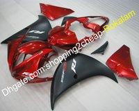 ingrosso yamaha yzf r1-YZF 1000 Red Black Body Kit per Yamaha Fairing YZF1000 R1 2009 2010 2011 YZF-R1 YZF Sportsbike Fitting Fairings (stampaggio a iniezione)