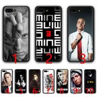 4dbe8f190be Hip Hop Rapper Eminem rap Soft Silicone Black TPU Phone Case for Huawei  Honor 6A 7A Pro 7C 7X 8X 8 9 10 Lite