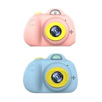 ingrosso macchina fotografica della porcellana mega-Schermo HD da 2 pollici Mini fotocamera digitale ricaricabile per bambini Cartone animato Carino macchina fotografica Giocattoli Compleanno bambino