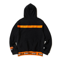 Wholesale sweatshirts sports online – oversize Mens Designer Hoodies Europe and America High Street Hip Hop Fashion Brand HERON PRESTON Casual Sweater HP Crane Sports Sweatshirt Hooded