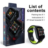 Wholesale z7 for sale - Group buy Sport Smart Watch Z7 Men Women Fitness Tracker band Heart Rate Monitor Smart Bracelet Blood Pressure For iOS Android Smartwatch