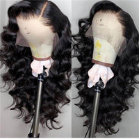 Wholesale hairstyles brazilian body wave hair for sale - Group buy PAFF Body Wave glueless full lace wig remy hair Brazilian side part human hair wig natural hairline baby hair
