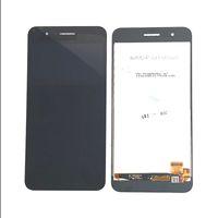 lg pantalla de visualización al por mayor-Montaje de pantalla LCD completo para 5.0 Garantía de calidad de piezas de reparación móviles de LG K9 X210FM en negro