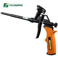 berühren möbel großhandel-FUJIWARA Fluorkohlenwasserstoff-Metallschaumpistole Schaumgummifüllmittel Polyurethan-Dichtungsfüller-Spritzpistole