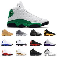 Wholesale sport sheos resale online - 2020 Mens basketball sheos lucky green s COURT PURPLE black cat Bred BARONS WHEAT HYPER ROYAL mens sports sneakers trainers size
