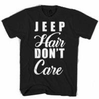 jeephemden großhandel-Jeep Hair Dont Care Männer / Damen T-Shirt Größe discout heißes neues T-Shirt