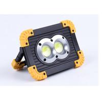 ingrosso la luce quadrata principale del quadrato-Luce abbagliante a LED COB luce di inondazione esterna quadrata LED luce di emergenza campeggio luce portatile LJJZ568