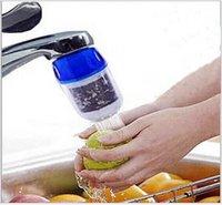 alkalisches wasser versendet großhandel-Freies verschiffen Aktivkohle Luftreiniger Küche Wasser Alkalischen Ionisator Wasserhahn Filter Reiniger Filtration Alkalischen Wasser Ionisator