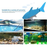 Wholesale smallest remote control car for sale - Group buy OCDAY Mini RC Submarine CH Remote Small Sharks With USB Remote Control Toy Fish Boat Best Christmas Gift for Children Kids New