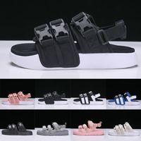 kızlar için terlikler toptan satış-Yeni Leadcat YLM Moda Roma Stil Erkek Bayan Lüks Sandalet Moda Erkek kız Peep Toe Spor Terlik Geniş Düz Slaytlar flip-flop