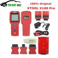 programadores clave ecu al por mayor-Actualización en línea Original XTOOL X100 Pro Auto Key Programmer X 100 X-100 Inmovilizador ECU Corrección del odómetro