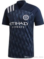 Wholesale jersey city resale online - 2019 Fan version New York City MLS Soccer Jersey Football Shirts NYC Home Pirlo Camiseta de futbol David Villa Maglie